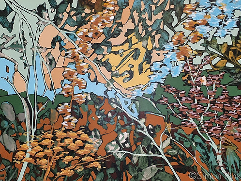 Autumn - limited edition giclée print 50cm x 30cm