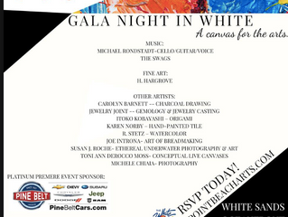 Gala Night in White