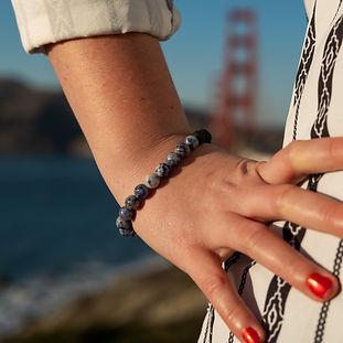 Blue Sodalite Aromatherapy Bracelet