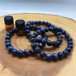 Blue Tiger Eye Aromatherapy Bracelet