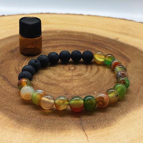 Agate Aromatherapy Bracelet