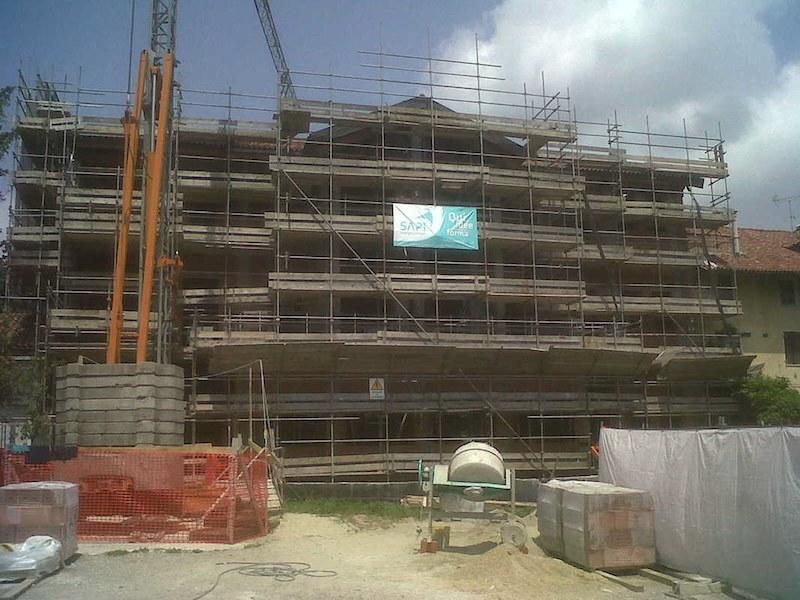 Costruzione del centro incontri polifunzionale di via Molina a Pino Torinese