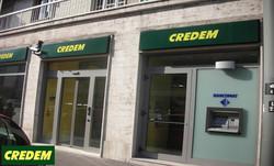 Credem  Corso Giulio Cesare, 199 - Torino - Allestimento Filiale