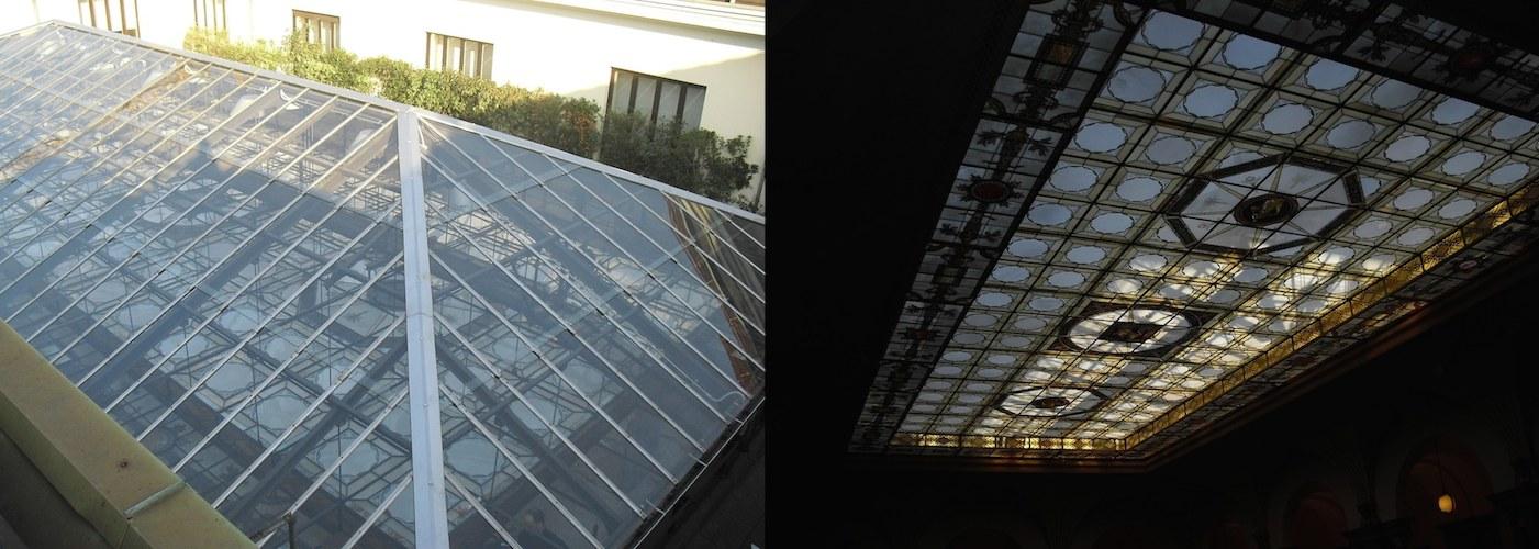 Unicredit Real Estate Torino  Via XX Settembre, 31 - Ristrutturazione Velario (Prima e Dopo)
