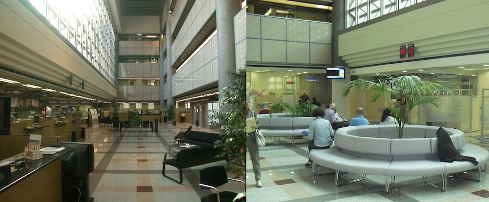 BPN  Via Negroni, 11 - Ristrutturazione ed allestimento Banca Popolare di Novara (Prima e Dopo)