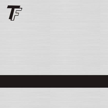 TrophyFlex plata cepillado/negro