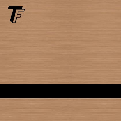 TrophyFlex cobre cepillado/negro