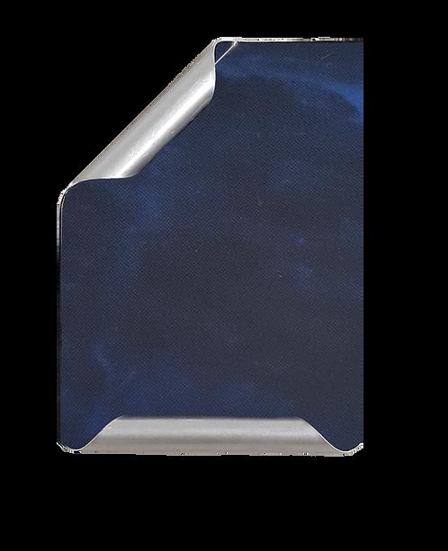 Placa Manuscrito mármol azul