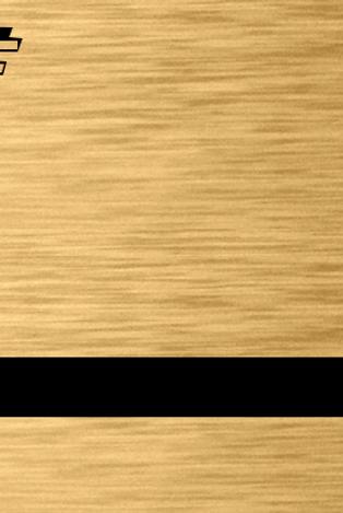 TrophyFlex oro cepillado/negro
