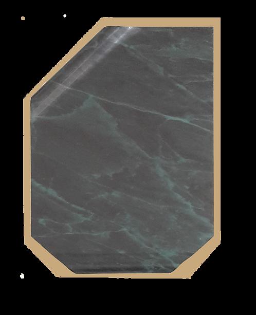 Placa Continental mármol verde