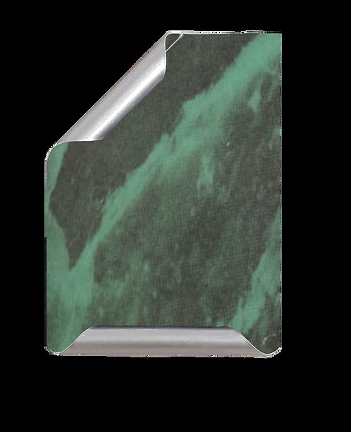 Placa Manuscrito mármol verde