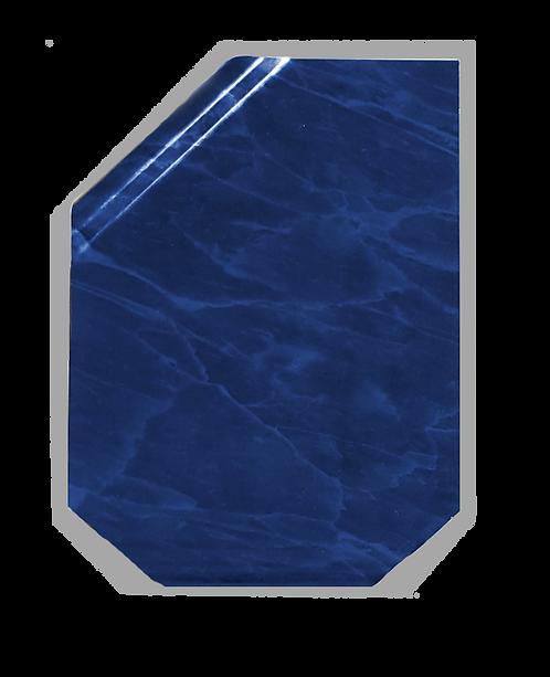 Placa Continental mármol azul