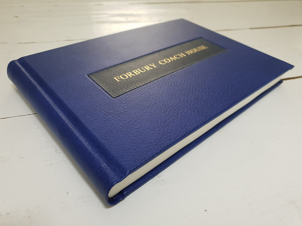 Personalised Visitor's Book by And Other Memories