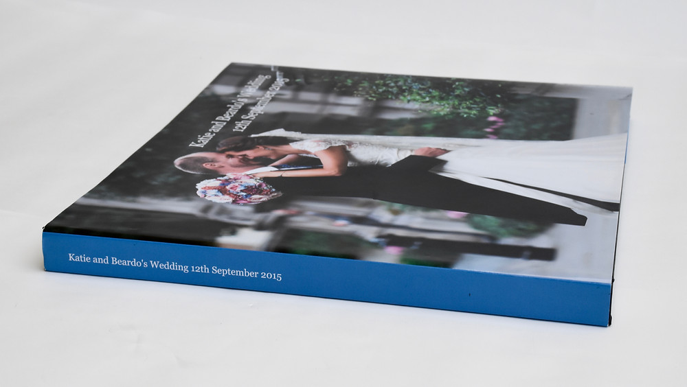 Wedding Photobook Album designed by And Other Memories