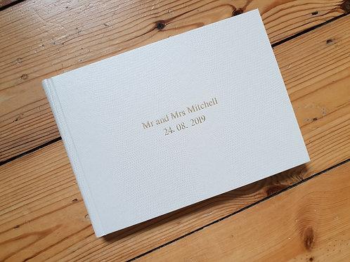 Personalised Wedding Guestbooks