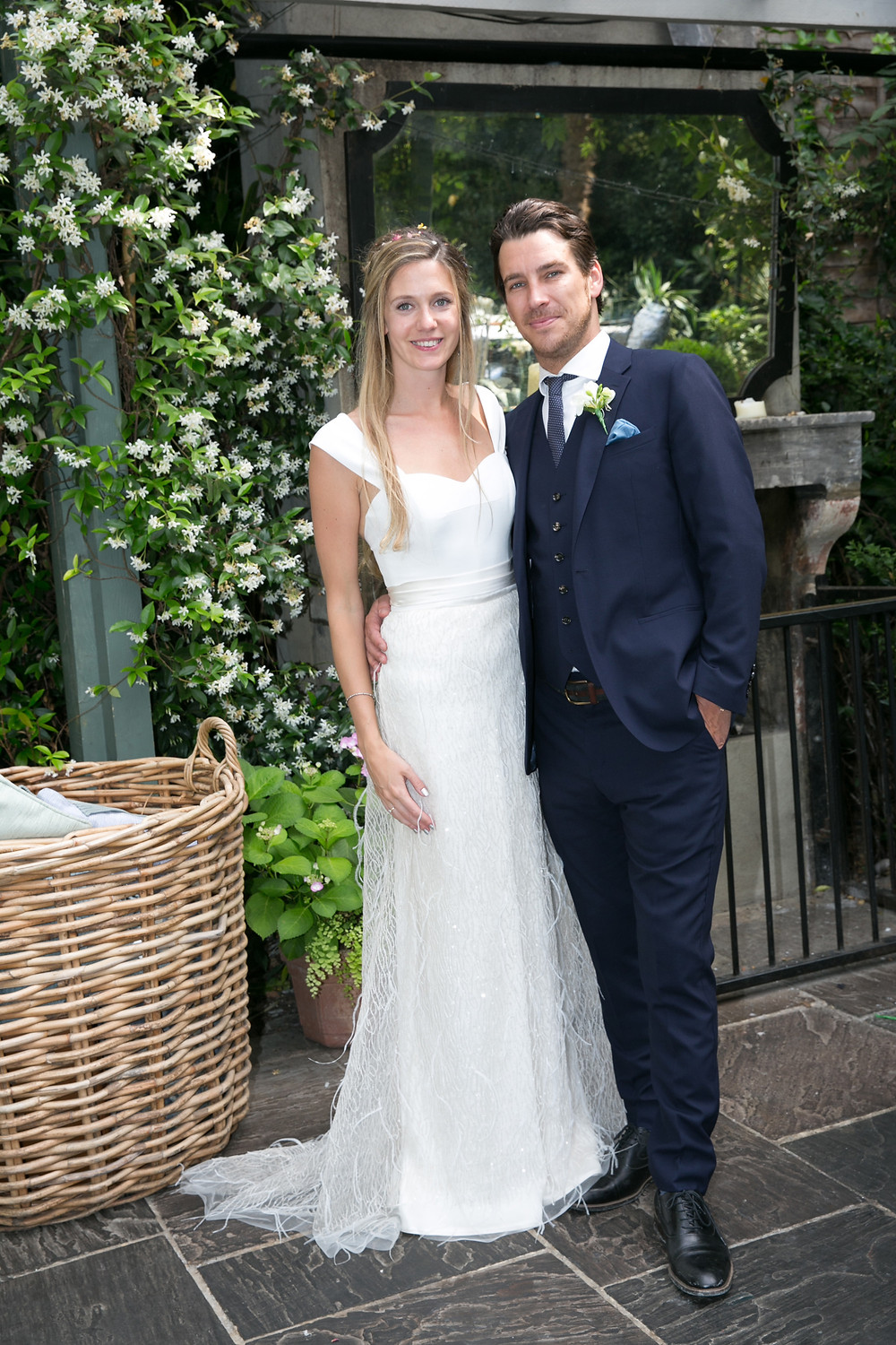 The gorgeous Mr and Mrs Ben White.