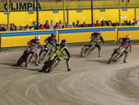FIM Flat Track Cup a Terenzano. Inizio vincente di Cecchini, Moschini 3°