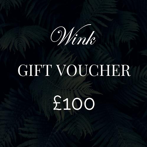Gift Voucher - £100