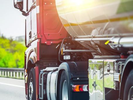 A segurança no transporte de produtos químicos