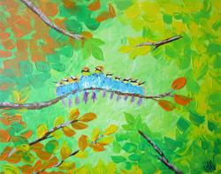 """""""Ten Little Birds"""""""