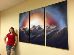 Spring Mountains Triptych