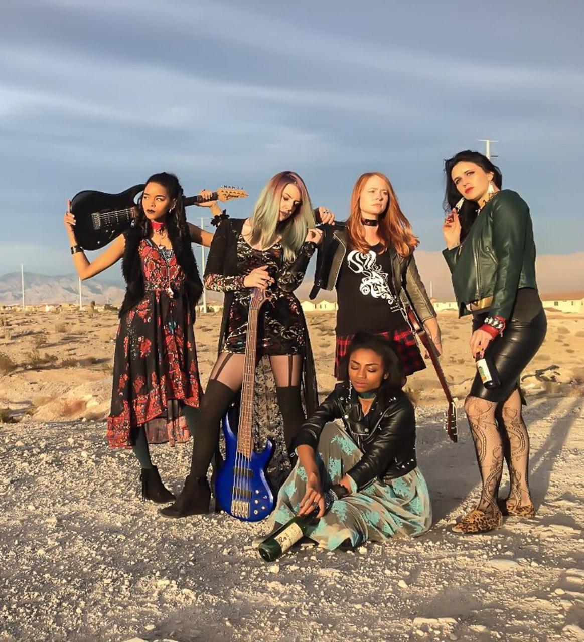 Desert Rocker Shoot