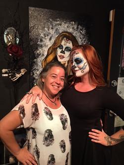 Suzanne Lugano, Body painter
