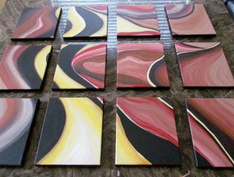 Wavy Lines 12 Piece