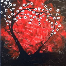 Red Heart Trees