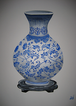 Oriental Vase #1