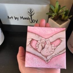 Baby Girl Mini Print