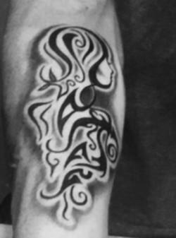 Rose Girl Tattoo