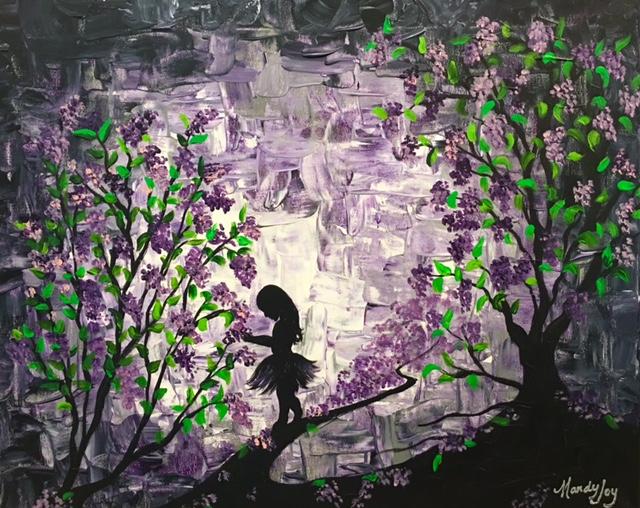 Picking Lilacs