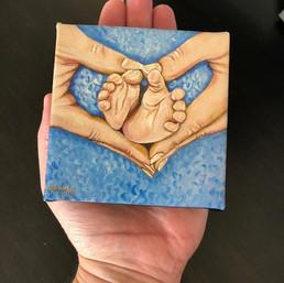 Baby Boy Mini Print