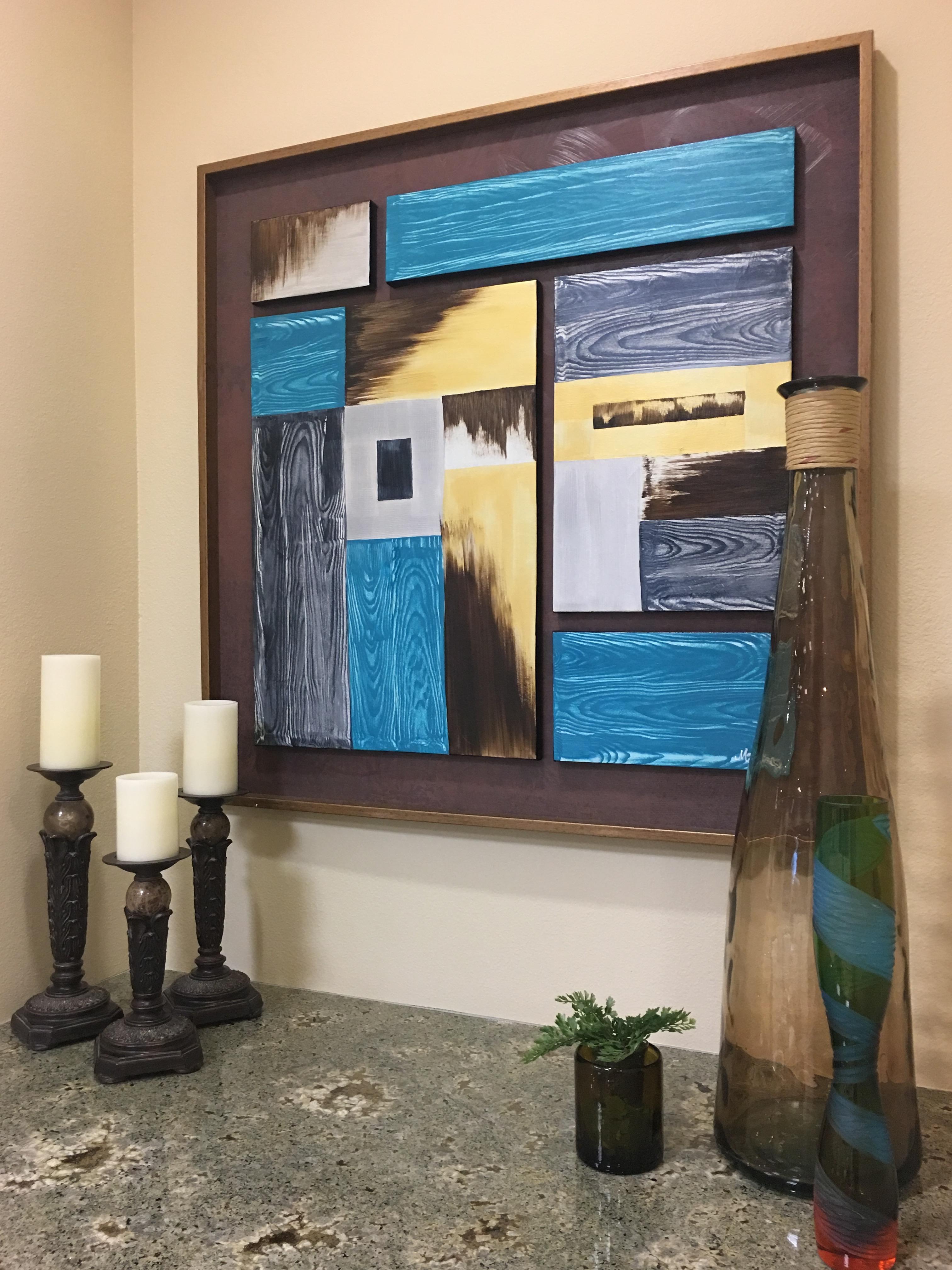 Wood Grain Abstract