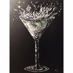 Custom Martini Splash