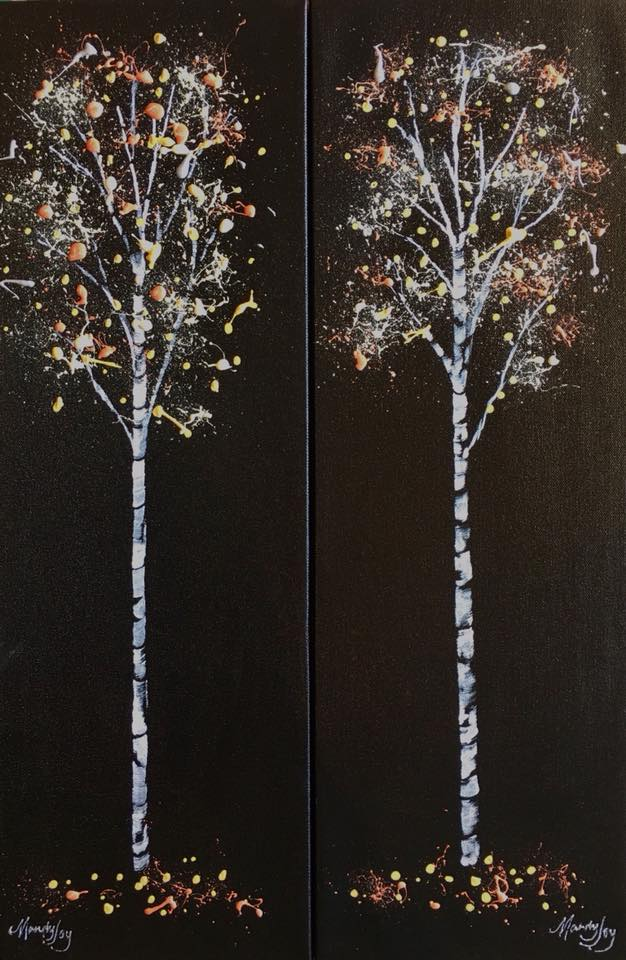 Twin Birches