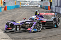 MS Virgin Racing's Sam Bird Claims Victory in the Inaugural New York City Formula E Grand Prix.