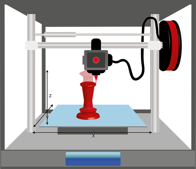 הדפסה תלת מימדית מתכת