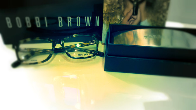 Bobbi Brown frames now available.