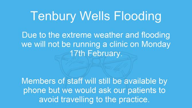 Tenbury Wells Flooding