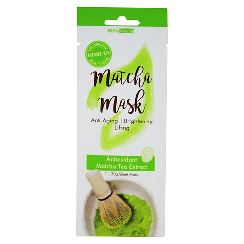 Matcha Facial Sheet Mask