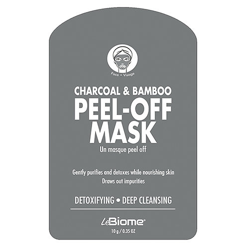 Charcoal And Bamboo Peel Off Mask