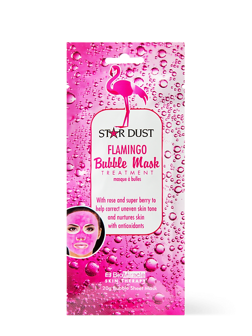 Flamingo Bubble Mask