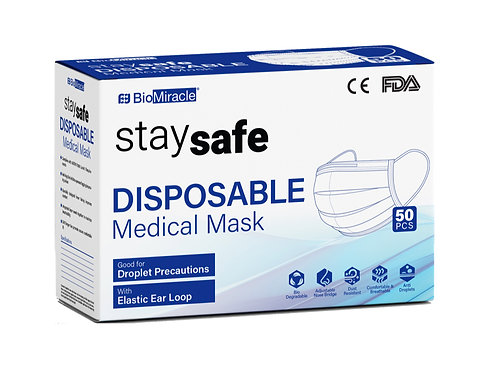 50 Disposable Medical Mask