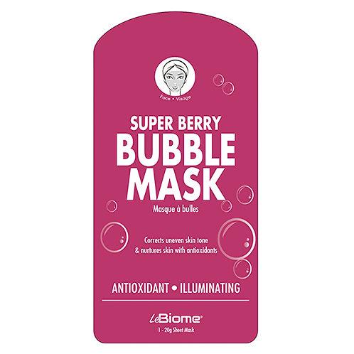 Super Berry Bubble Mask