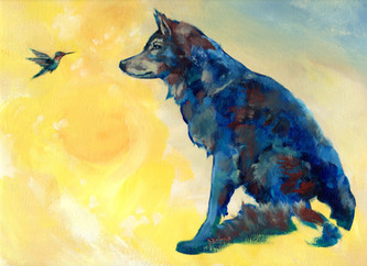 The Wolf and the Hummingbird