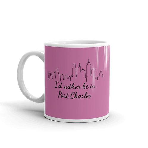 I'd Rather Be In Port Charles Mug