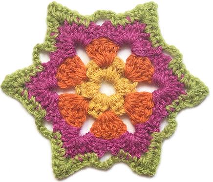 Ayla Crochet Motif PDF Pattern