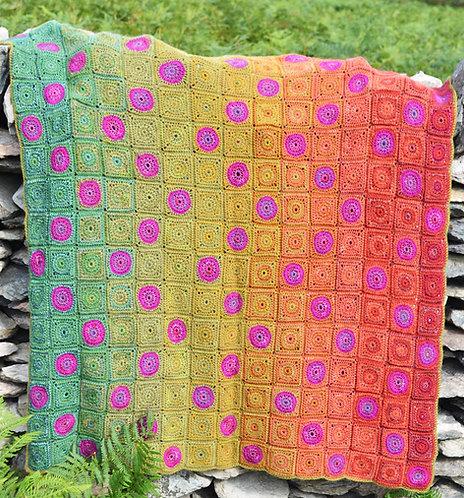 Countisbury - Crochet Blanket PDF Pattern